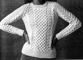 Fisherman's Sweater Knitting Pattern
