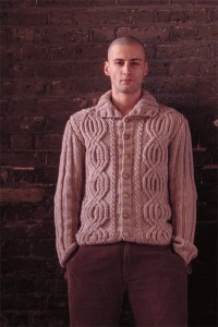 Aran Sweater Knitting Patterns Photo