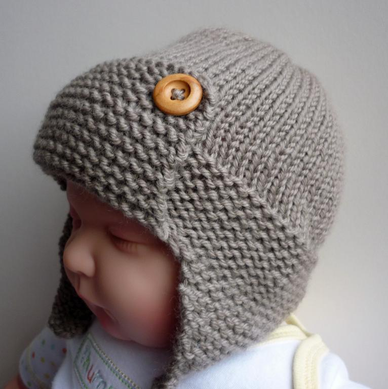 Pics Photos - Adorable Baby Hat Knitting Pattern