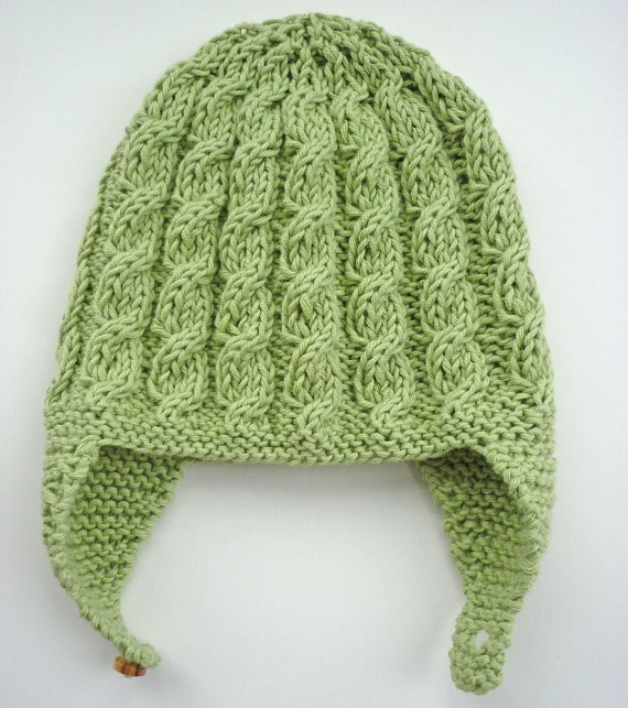 Knitting Pattern For Baby Pilot Hat : Baby Hat Knitting Pattern A Knitting Blog
