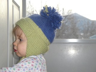 Knitting Pattern For Infant Hat With Ear Flaps : Earflap Hat Knitting Pattern A Knitting Blog