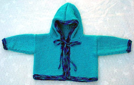 Free Knitting Patterns Baby Hooded Sweater : Baby Hooded Sweater Knitting Pattern Photo Images - Frompo