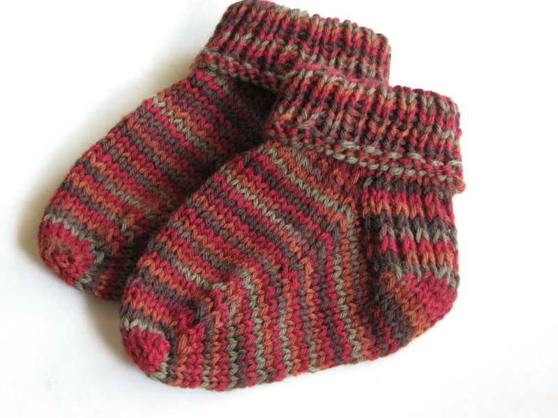 Baby Knit Socks Pattern