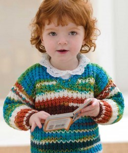 Chunky Knit Baby Cardigan Pattern Free : BABY CHUNKY SWEATER PATTERN Free Baby Patterns