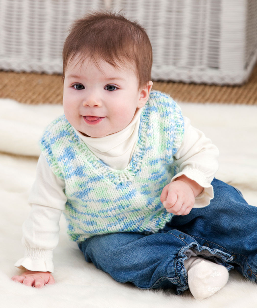Knitted Baby Vest Pattern : Knitted Vest Patterns A Knitting Blog
