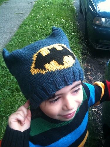 Batman Knit Hat Patterns A Knitting Blog
