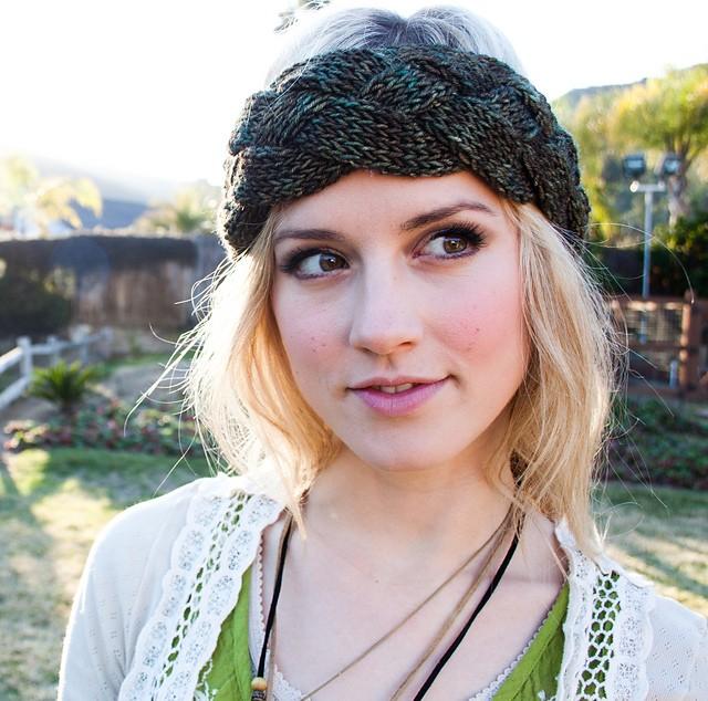 Free Crochet Braided Ear Warmer Pattern : Braided Knit Headband Patterns A Knitting Blog