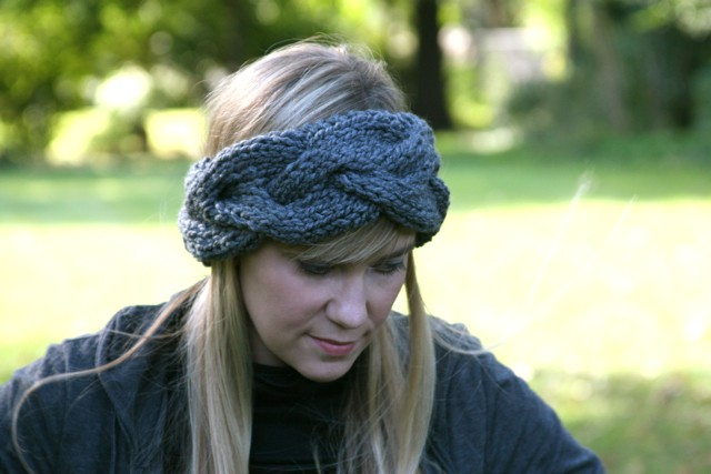 Knitted Headbands Pattern : Braided Knit Headband Patterns A Knitting Blog