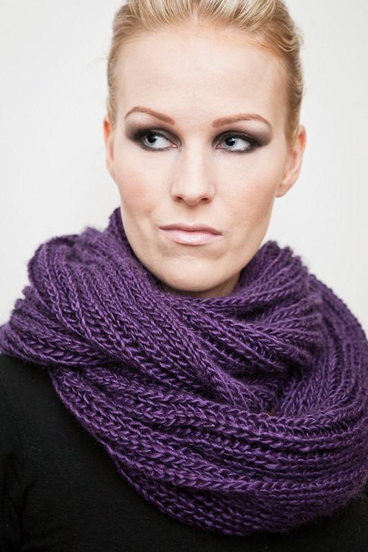 Capelet Knitting Pattern Free : Infinity Scarf Knitting Patterns A Knitting Blog