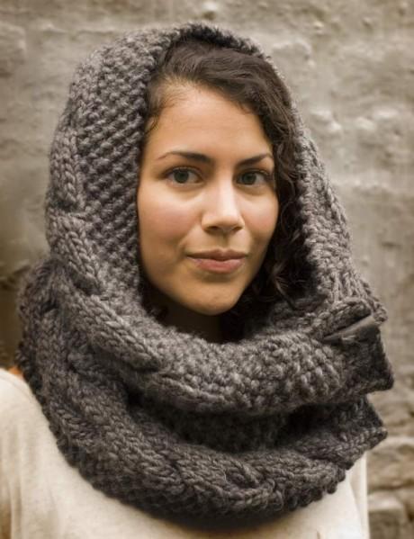 Owl Cowl Knitting Pattern : Knit Cowl Pattern A Knitting Blog