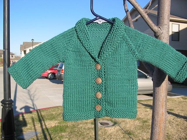 Knitting Pattern Baby Boy Cardigan : Baby Sweater Knitting Pattern A Knitting Blog