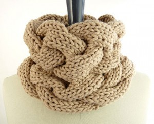Images of Cable Infinity Scarf Knitting Pattern