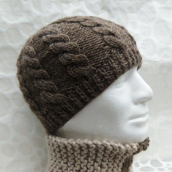 Hat Knitting Patterns : men knit hat patterns