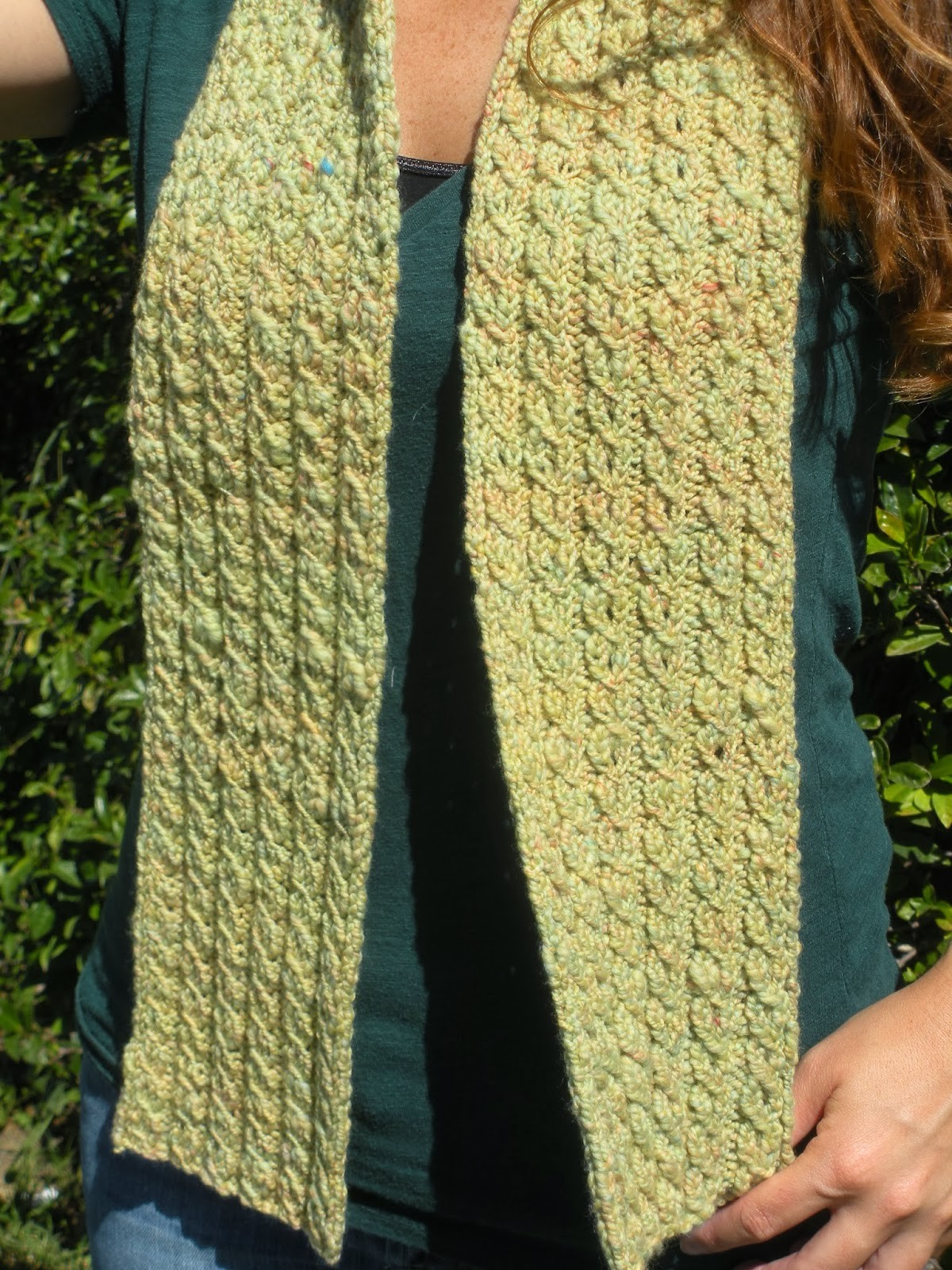 Cable Knit Scarf Pattern : Cable Knit Scarf Pattern A Knitting Blog