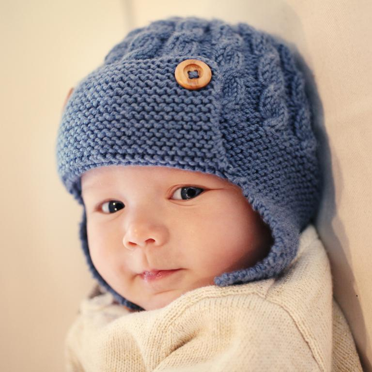 Knitted Baby Beanies Free Patterns : Baby Hat Knitting Pattern A Knitting Blog