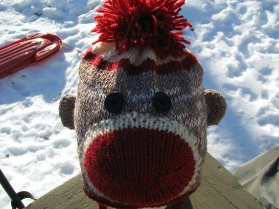 Sock Monkey Hat Knitting Pattern : Sock Monkey Hat Knitting Pattern A Knitting Blog