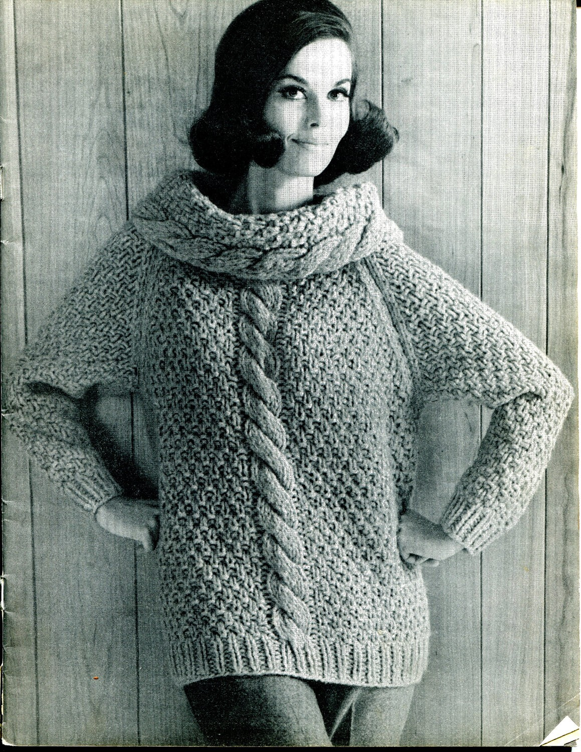 Chunky Knit Jumper Pattern : Cable Knit Sweater Patterns A Knitting Blog