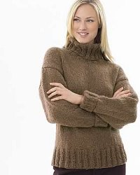 Knitting Patterns For Turtleneck Sweater : Chunky Knit Sweater Patterns A Knitting Blog