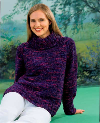 Yarn Forward - Chunky Sweater Free Pattern
