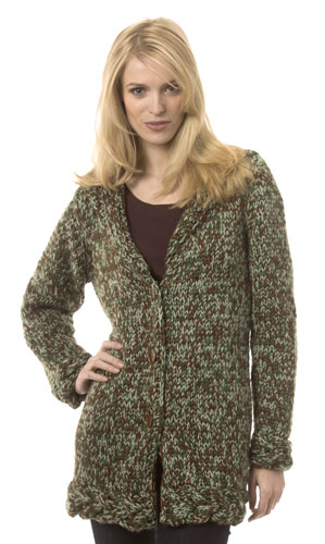 Free Knitting Pattern Chunky Wool Cardigan : Chunky Knit Sweater Patterns A Knitting Blog