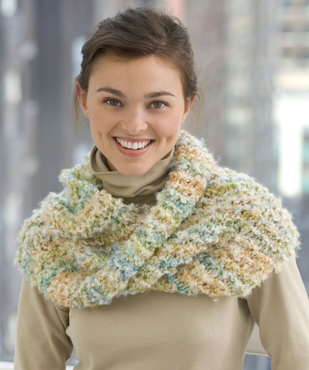 Bear Cowl Pattern Knitting