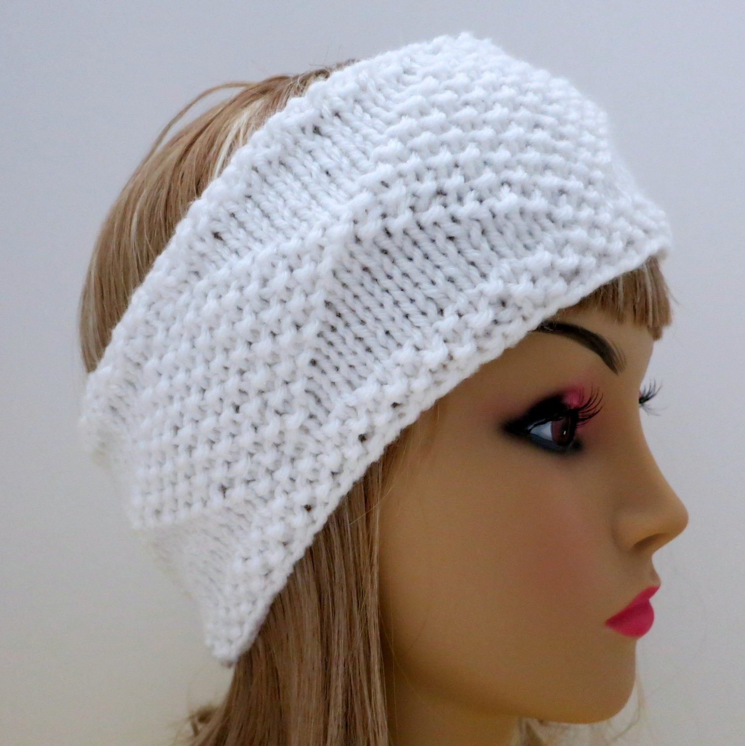 Pattern Knit Headband : Knit Ear Warmer Pattern A Knitting Blog