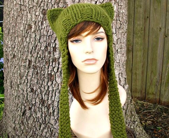 Knit Cat Ear Hat Pattern : Chunky Knit Hat Pattern A Knitting Blog