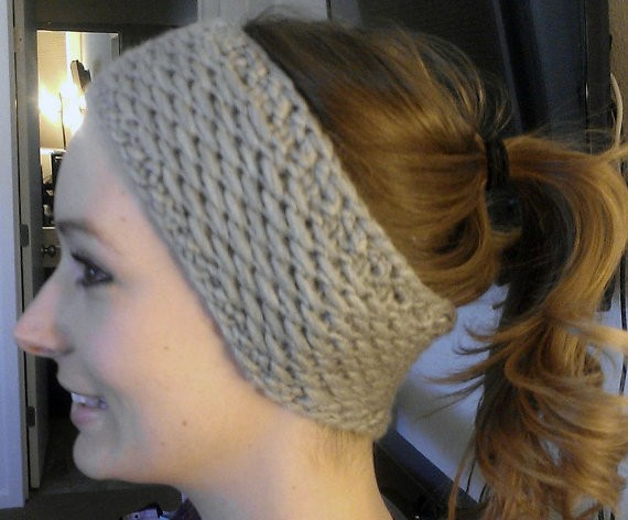 Knitting Pattern Headband Ear Warmer : Knit Headband Ear Warmer Patterns A Knitting Blog