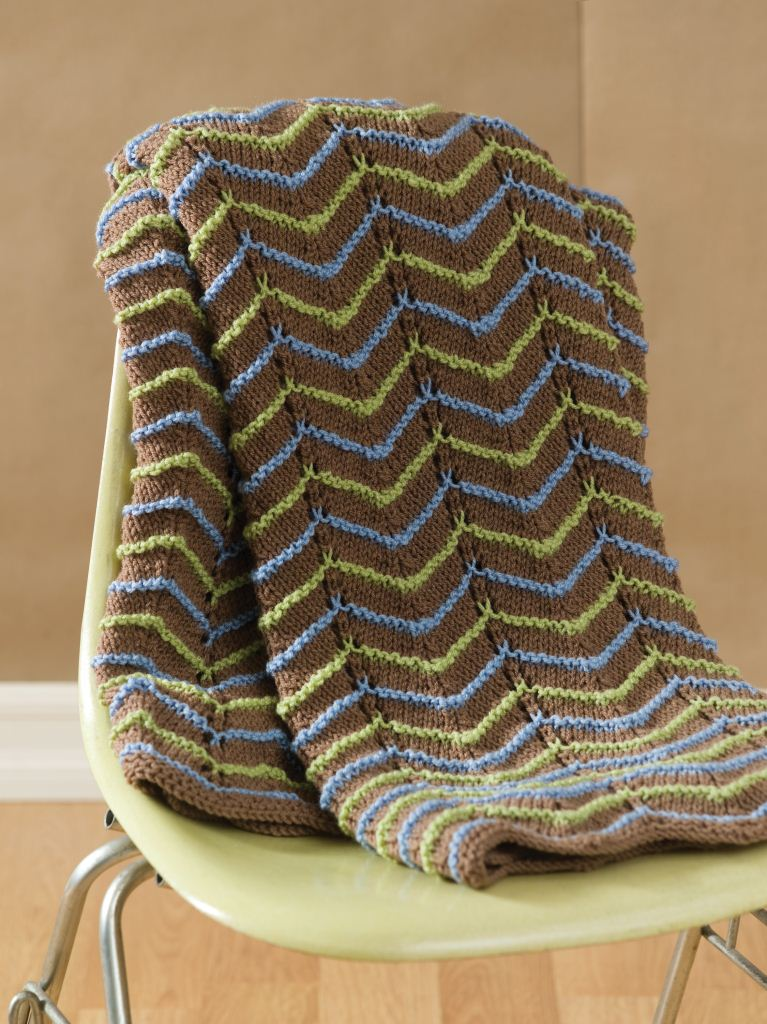 Pattern For Knitted Throw Blanket : Knitted Afghan Patterns A Knitting Blog