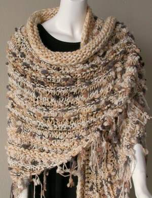 Easy knitted shawl patterns bing images