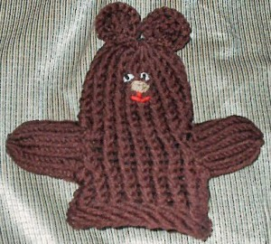 Easy Loom Mitten Puppet Design Images