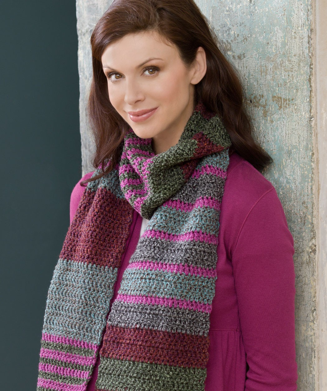 Knit Striped Scarf Pattern : Striped Scarf Knitting Pattern A Knitting Blog