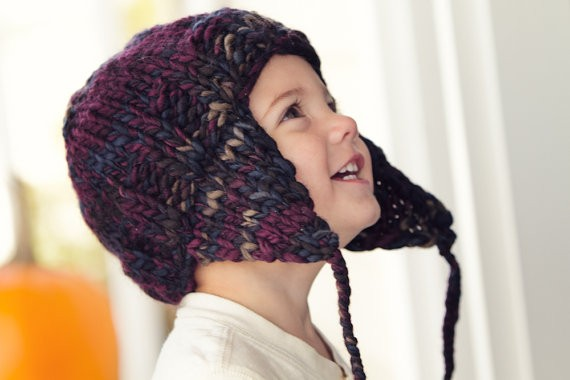 Knitted Earflap Hat Pattern : Earflap Hat Knitting Pattern A Knitting Blog
