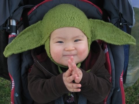 Knitting Pattern For Baby Yoda Hat : Yoda Knit Hat Patterns A Knitting Blog