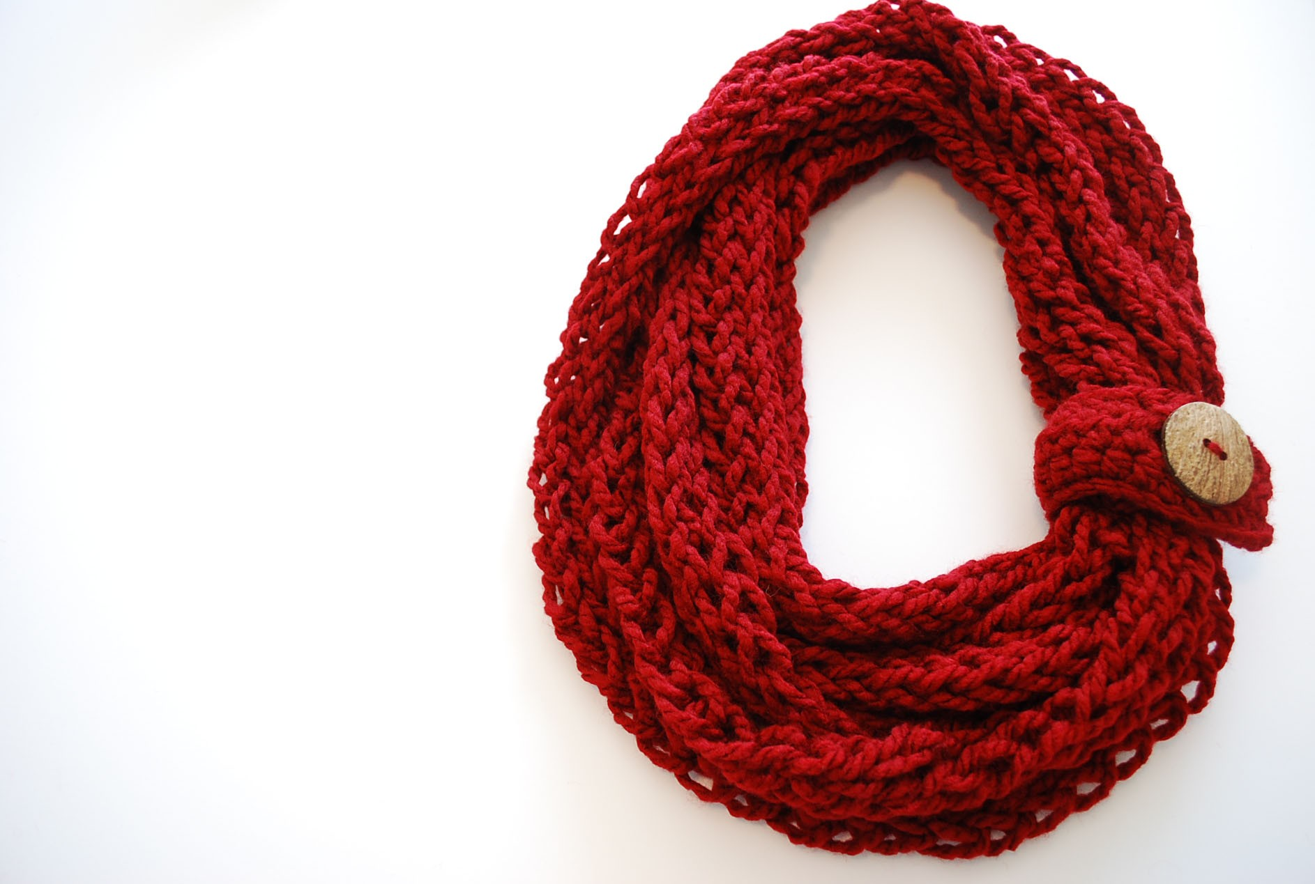 Quick Knit Infinity Scarf Pattern : How To Knit An Infinity Scarf Apps Directories