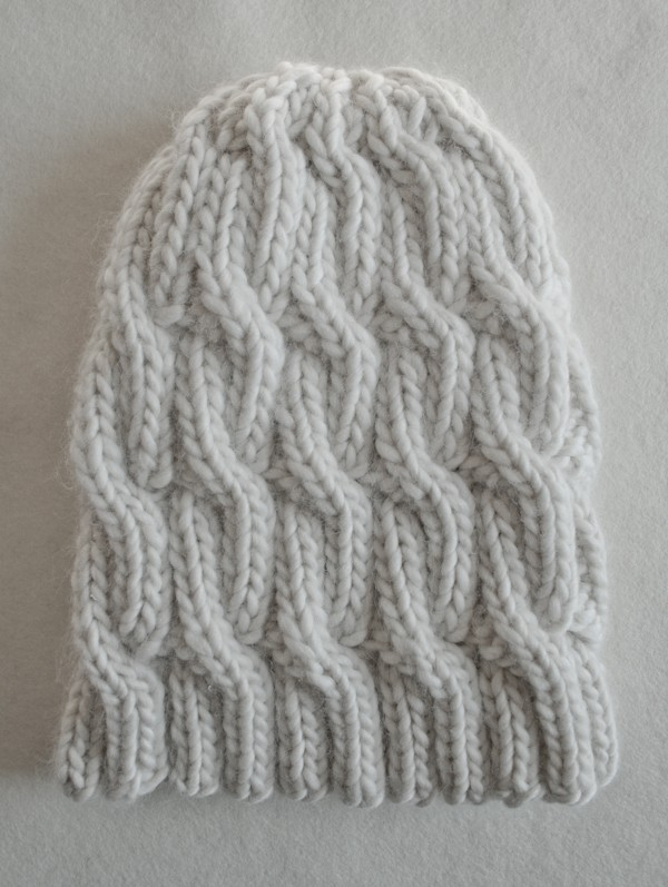 Sideways Knitting Patterns Free : Cable Knit Hat Pattern A Knitting Blog