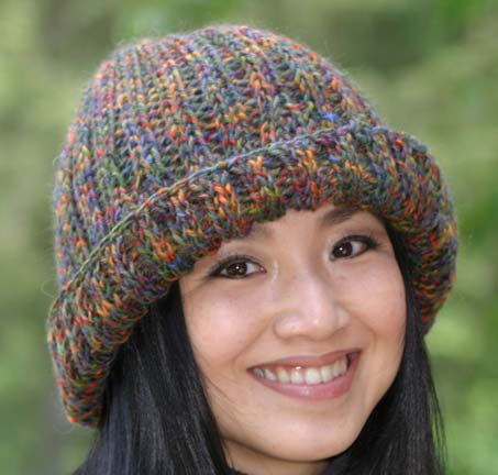 Free Slouchy Knit Hat Pattern : Loom Knitting Hat Patterns A Knitting Blog