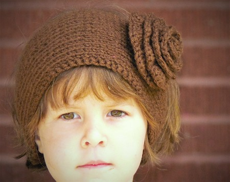Free Knitted Headband Pattern With Flower : Knitted Headband with Flower Patterns A Knitting Blog