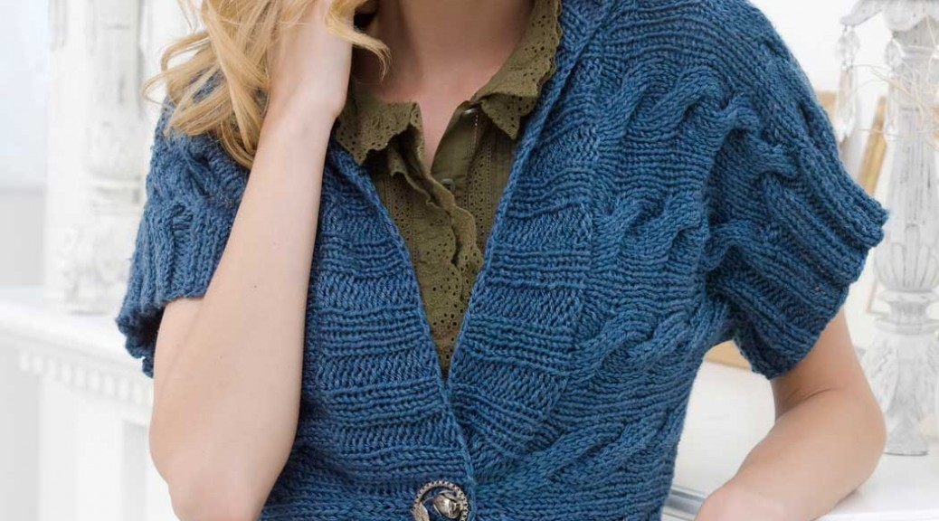 Cardigan Knitting Patterns For Ladies - Cardigan With Buttons