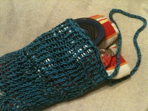 Photos of Free Loom Knit Mesh Bag
