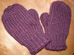 Picture of Free Loom Knitting Mittens Patterns