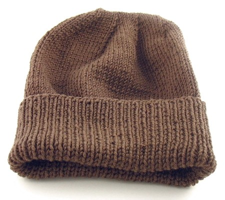 Easy Hat Knitting Patterns : Men s Knit Hat Pattern A Knitting Blog