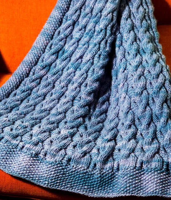 Knitting Pattern For Baby Blanket : Cable Knit Baby Blanket Patterns A Knitting Blog
