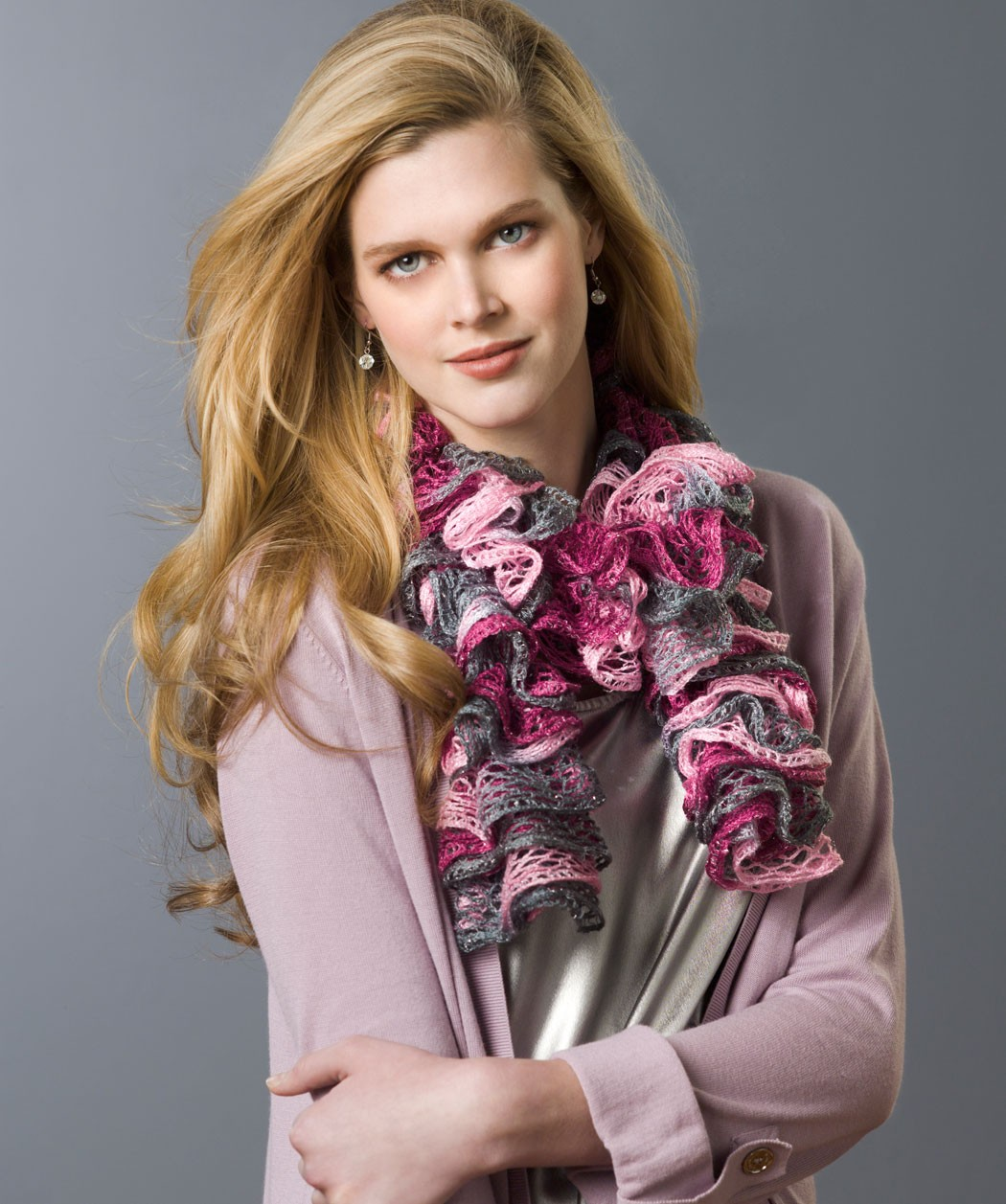Frilly Knit Scarf Pattern : Ruffle Scarf Knitting Pattern A Knitting Blog