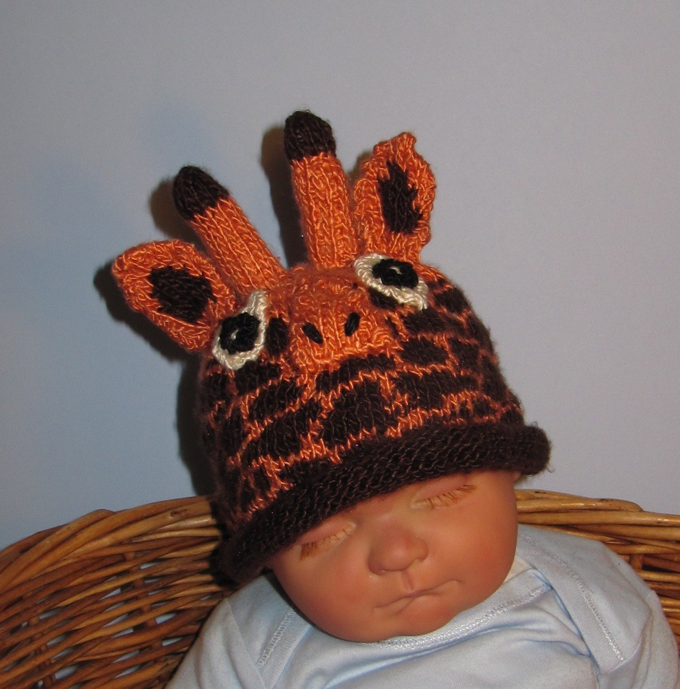 Knitting Patterns Hats Animals : Animal Knit Hats Pattern A Knitting Blog