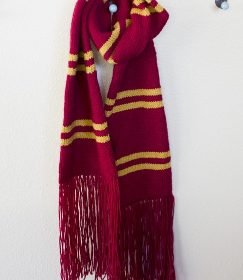 Knit Harry Potter Scarf Pattern : harry potter scarf pattern
