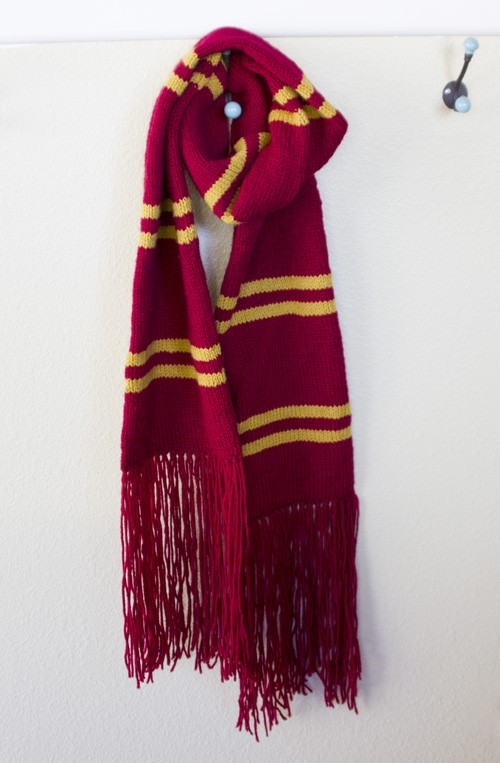 Knit Harry Potter Scarf Pattern : Harry Potter Scarf Knitting Pattern A Knitting Blog