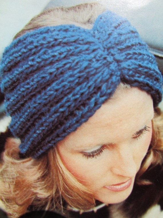 Headband Knitting Pattern : Knit Headband Ear Warmer Patterns A Knitting Blog