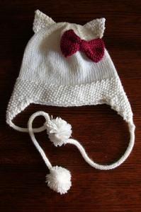 Hello Kitty Mittens Knitting Pattern : Hello Kitty Knit Hat Pattern A Knitting Blog