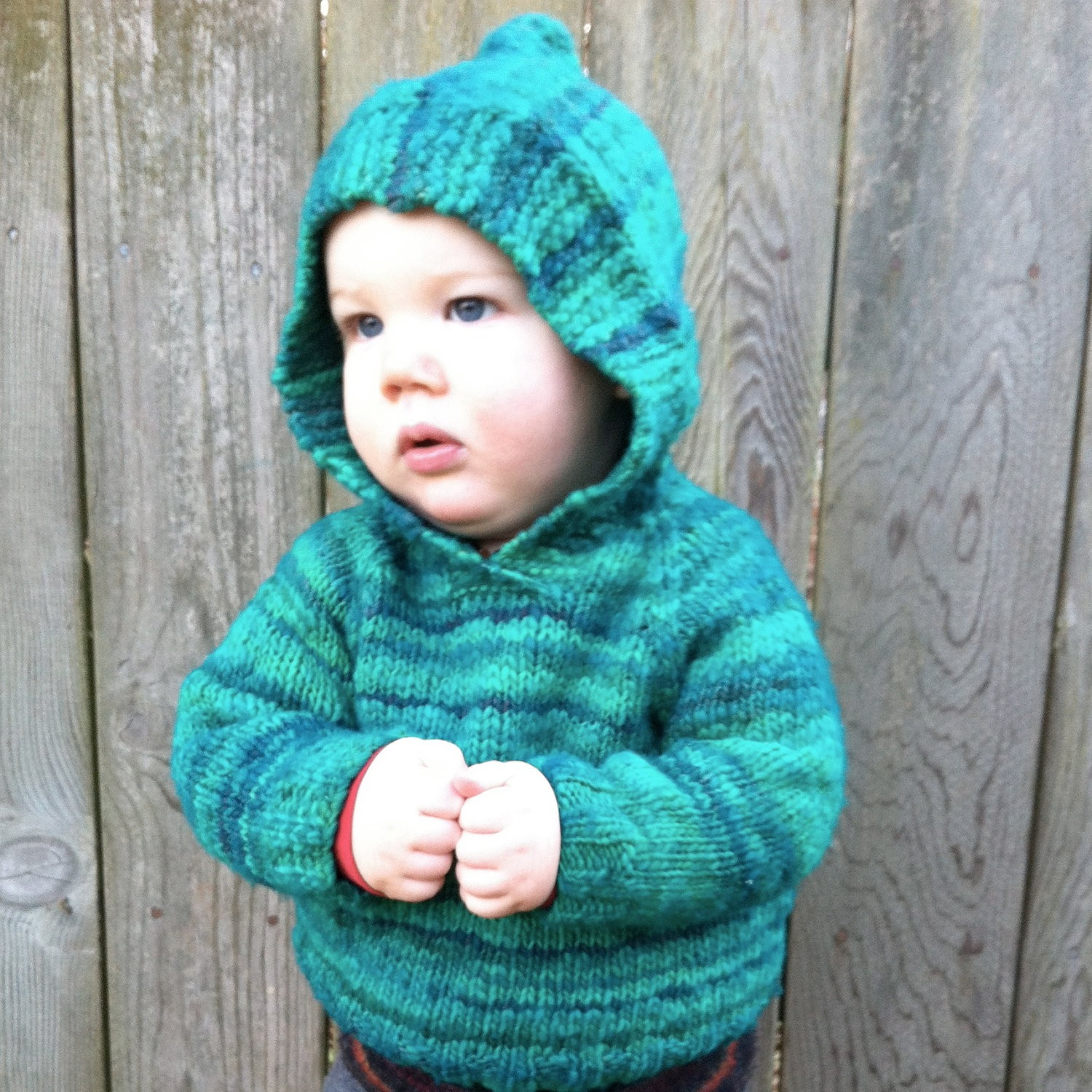 Knitting Patterns For Baby Vests : Hooded Knit Sweater Patterns A Knitting Blog